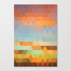 Simple Sky - Sunset Canvas Print