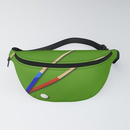 Snooker Cues Fanny Pack
