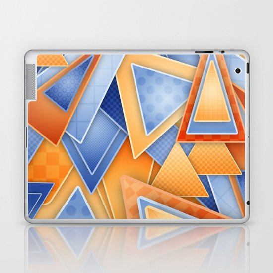 GeOmEtRiCity Laptop & iPad Skin