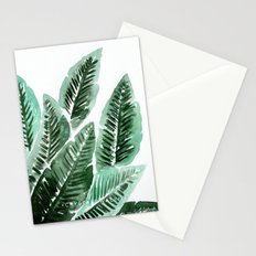 Paradise Leaves Stationery Cards