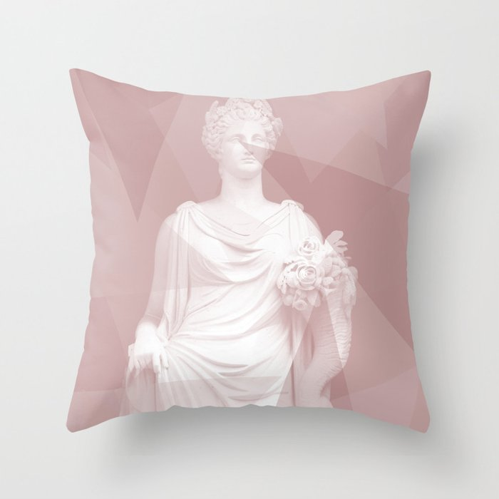 Modern Statue Throw Pillow By Hyggenok Society6