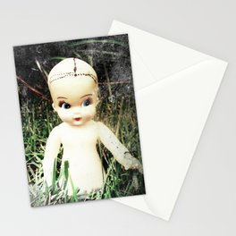 Plastic Girl Stationery Cards
