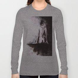 Woman nude Long Sleeve T-shirt