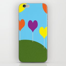 Happy Trees - Spring iPhone Skin