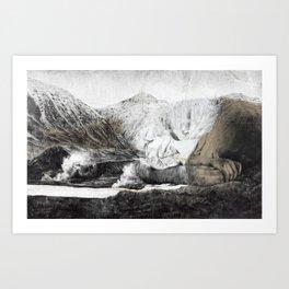 Mountain oh mountain I Art Print