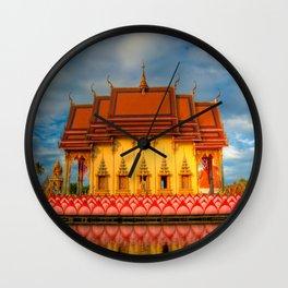 Pai Laem Temple Wall Clock
