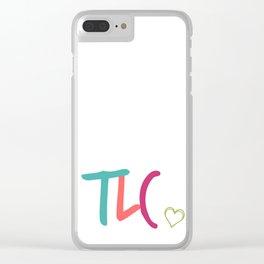 TLC Clear iPhone Case
