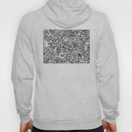 Somewhere Together black and white Hoody