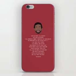 Tom Haverford-isms iPhone Skin