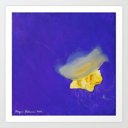 Dance of the Jelly Fish: Position IV Art Print