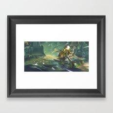 Escape + Pin up  Framed Art Print