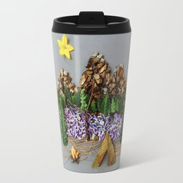 The Mountains Are Calling Travel Mug