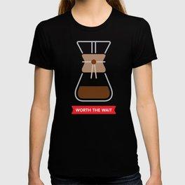 Worth the wait: Chemex T-shirt