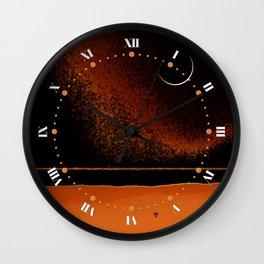 March New Moon Wall Clock