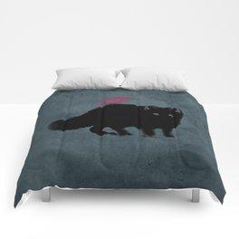 Cat and bird friends! Comforters
