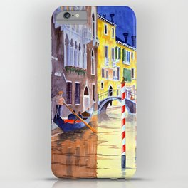 Reflections Of Venice Italy iPhone Case