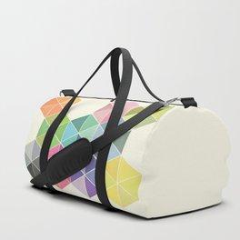 Fragmented Duffle Bag