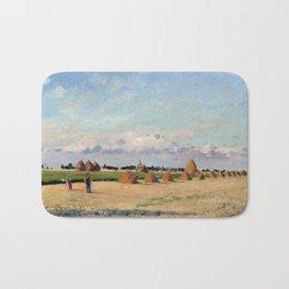 Camille Pissarro Landscape, Ile-de-France Bath Mat
