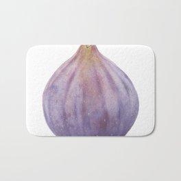 Fig Watercolor Bath Mat