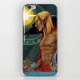 Zevran Aranai - Companion Card (Romance Variant) iPhone Skin