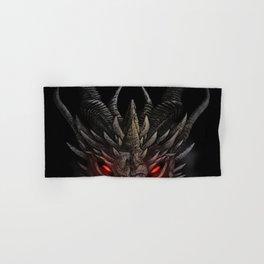 Red eyed dragon Hand & Bath Towel