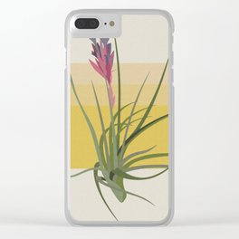 Blooming Tillandsia Clear iPhone Case