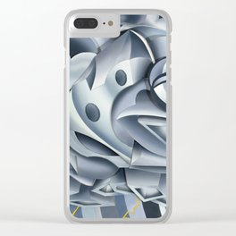 Cumulonimbus Clear iPhone Case