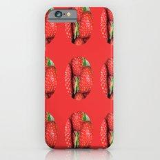 Strawberry Berries Slim Case iPhone 6s