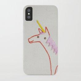 U Unicorn iPhone Case