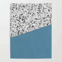 Granite and Niagara Color Poster