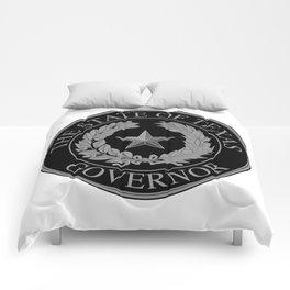 Texas State Governor Seal Comforters