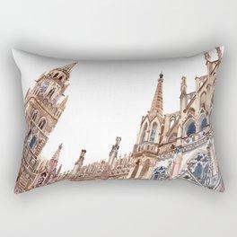 New Town Hall in Munich Rectangular Pillow