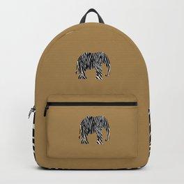 Zebra Elephant Safari Backpack
