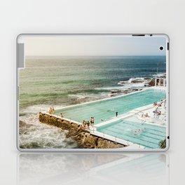 Bondi Icebergs Club | Bondi Beach Sydney Australia Ocean Coastal Travel Photography Laptop & iPad Skin