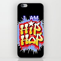 hip hop iPhone & iPod Skins featuring HIP-HOP by DaeSyne Artworks