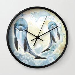 Love is everywhere! Wall Clock