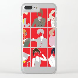 Warriors of justice Clear iPhone Case