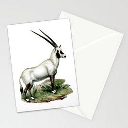Arabian Oryx Stationery Cards