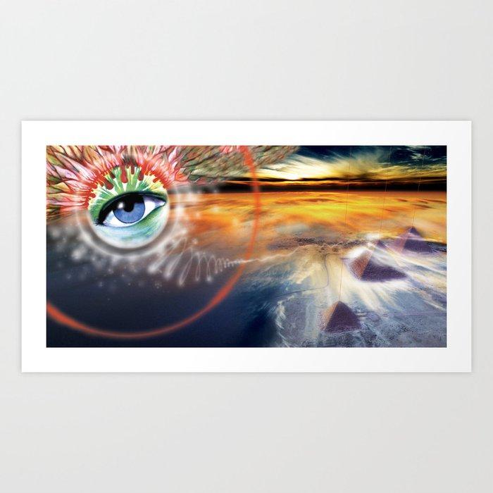 Galactic Gateway - Step 12 Art Print