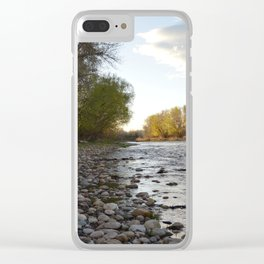River Run Clear iPhone Case