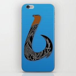Hawaiian hook iPhone Skin