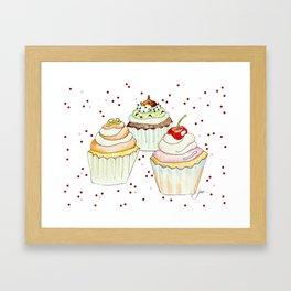 Sprinkles Bakery Framed Art Print