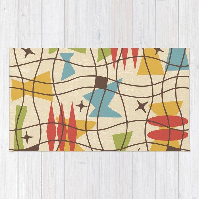 Mid Century Modern Abstract Pattern 571 Rug