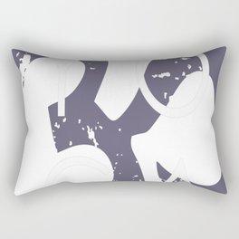 Focus on yoga Rectangular Pillow