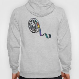 Movie reel with colorful tape Hoody