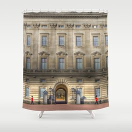 Buckingham Palace Guardsman Shower Curtain