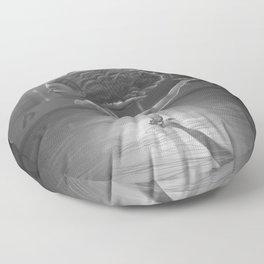 Ice Skater Floor Pillow