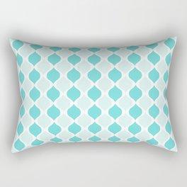 Blue Tiffany Co Rectangular Pillow