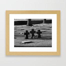 Belgian Memorial Framed Art Print