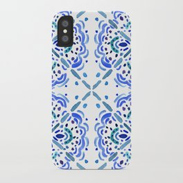 Amalfi Tile iPhone Case